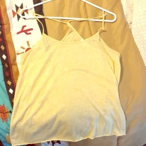 Light yellow tank top